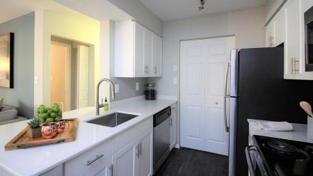 Renovated Kitchen with Stainless Steel Appliances | Alister Town Center Columbia