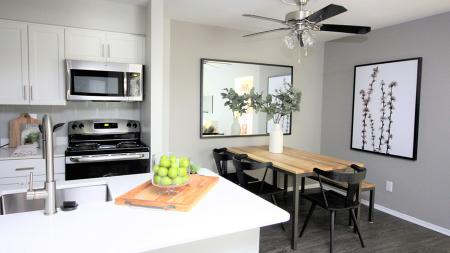 Redesigned Kitchen and Dining Room | Alister Town Center Columbia