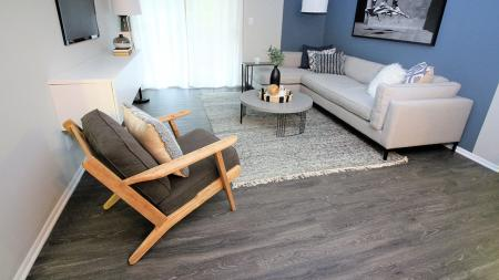 Living Area with Room for Plenty of Furniture | Alister Town Center Columbia