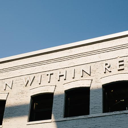 Exterior of building reading 'Design Within Reach'