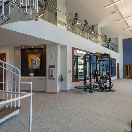 Two-Story Fitness Center | Modera Hopkinton