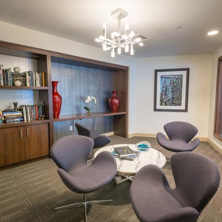 Business Center and Lounge | Modera Hopkinton
