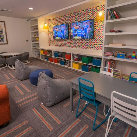 Convenient Children's Recreation Room | Modera Hopkinton