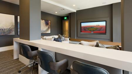 Theater Room | Modera Port Royale