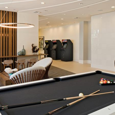 Pool Table in Gaming Area | Modera Port Royale
