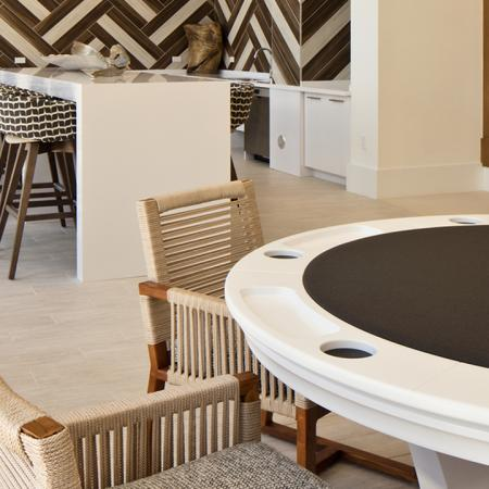 Poker Table in Gaming Area | Modera Port Royale