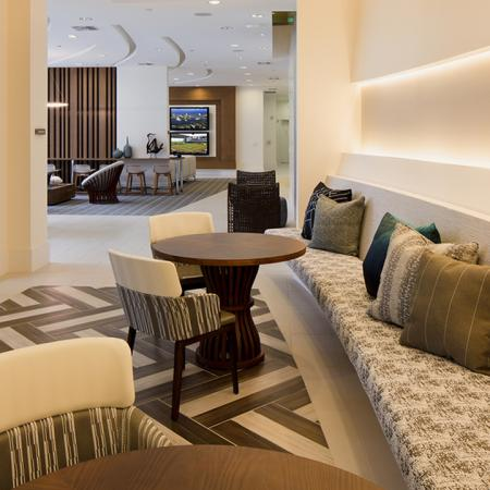 Social Seating in Clubroom | Modera Port Royale