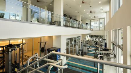 Two-Story Fitness Center | Modera Port Royale
