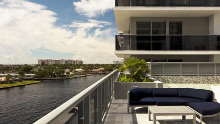 Private Balconies with Water Views | Modera Port Royale