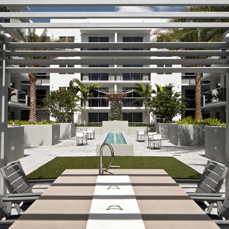Outdoor Dining Space | Modera Port Royale