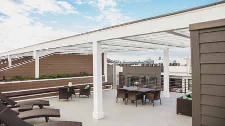 Rooftop Deck | Modera Morningside