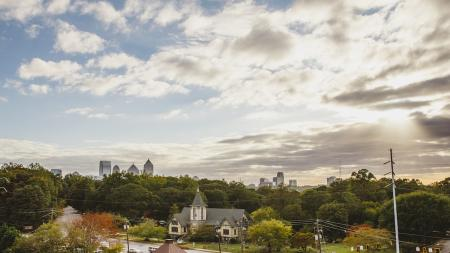 Views of Downtown Atlanta | Modera Morningside