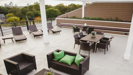 Spacious Rooftop Deck | Modera Morningside