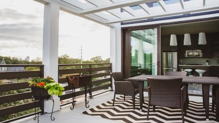 Private Deck | Modera Morningside