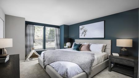 Spacious Carpeted Bedroom | Alister Columbia