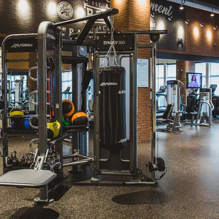 Gym | Modera Sandy Springs | Apartment Homes