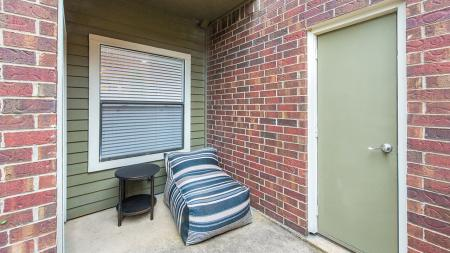 One Bedroom Patio | Lakewood on the Trail | Dallas, Texas