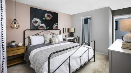 Extra Large Bedrooms | Alister Town Center Columbia
