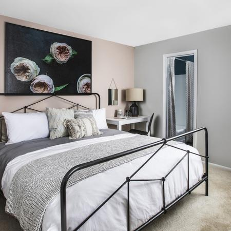 Spacious Bedroom | Studio Apartments in Columbia MD | Alister Town Center Columbia