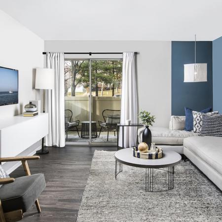 Spacious Living Room | Columbia MD Apartments | Alister Town Center Columbia