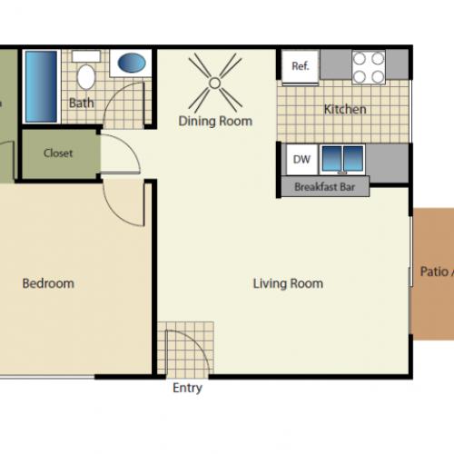 Quail Pointe Apartments: 2 Bed / 2 Bath Apartment In Encinitas CA