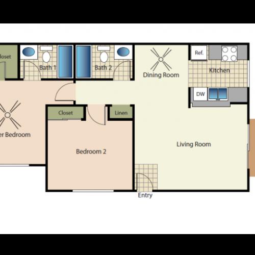Quail Pointe Apartments: 1 Bed / 1 Bath Apartment In Encinitas CA