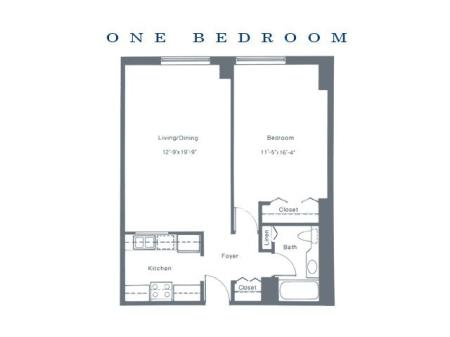 One Bedroom XLarge