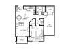 Massive den with walk in closet-9 foot ceilings-Stainless steel appliances-Wood plank floors-Quartz kitchen island-Granite countertops in baths -Full-size washer and dryer- Large patio or deck