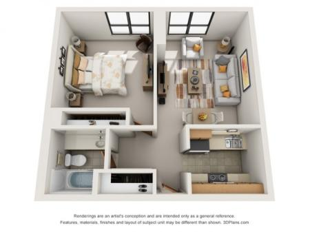 One Bedroom (Standard)