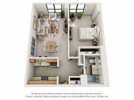 One Bedroom XLarge