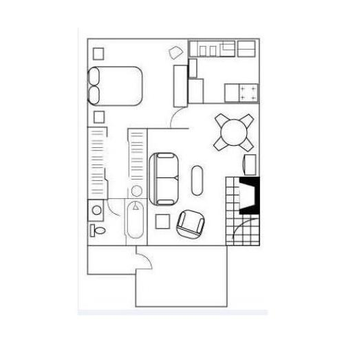 Floor Plan 2 | Apartments In Austin Tx | Barton\'s Mill