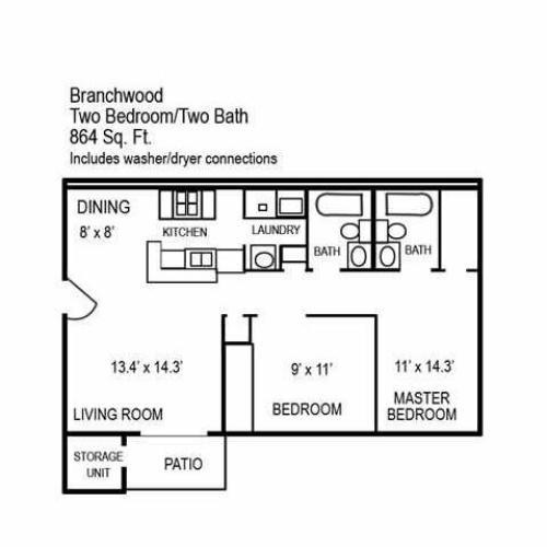 3 Bed / 2 Bath Apartment In Goose Creek SC