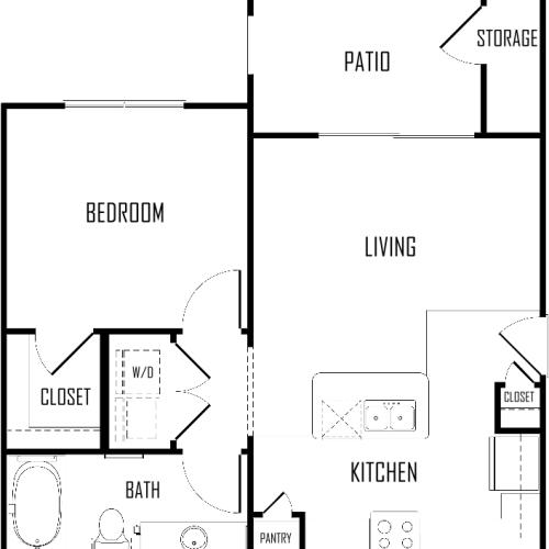 The Crossing Apartments Dc: 2 Bed / 2 Bath Apartment In Austin TX