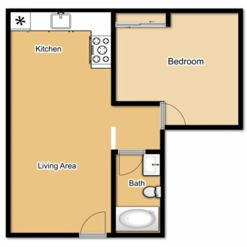 2 Bed / 1 Bath Apartment In Nephi UT