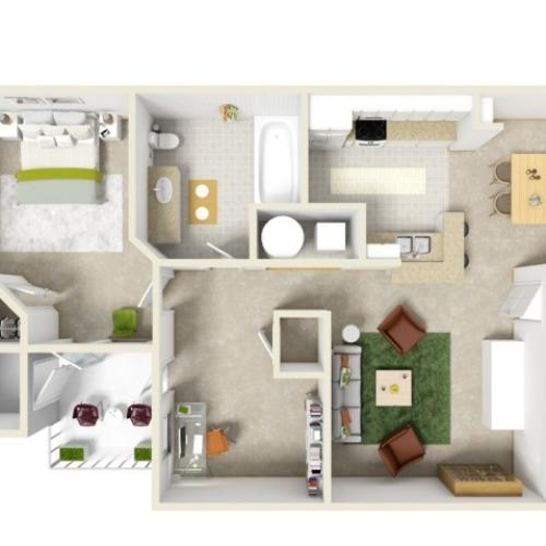 Patrician Apartments: 2 Bed / 2 Bath Apartment In Bonaire GA