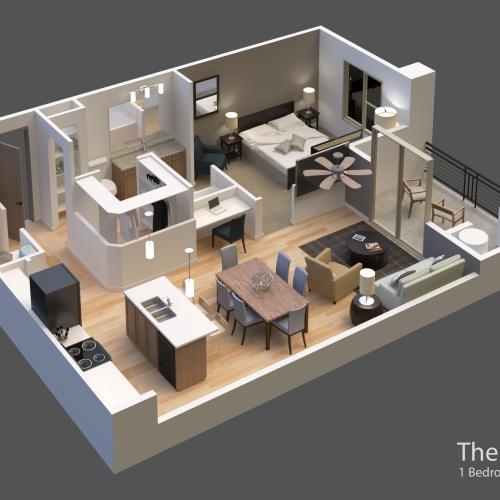 The Talus 3D Rendering