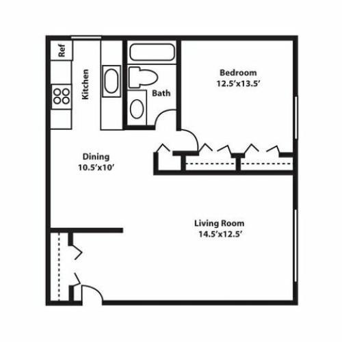 Centerline Plaza Apartments