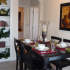 Picturesque dining area at the Olathe KS apartments for rent.