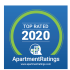 Badge from Apartment Ratings - Top Rated 2020  |The Woods at Cherry Creek Apartments Overland Park, KS apartments