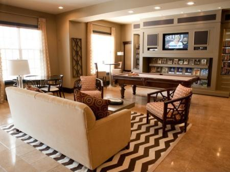 Clubhouse at The Alexander at Ghent Apartment Homes in Norfolk, VA
