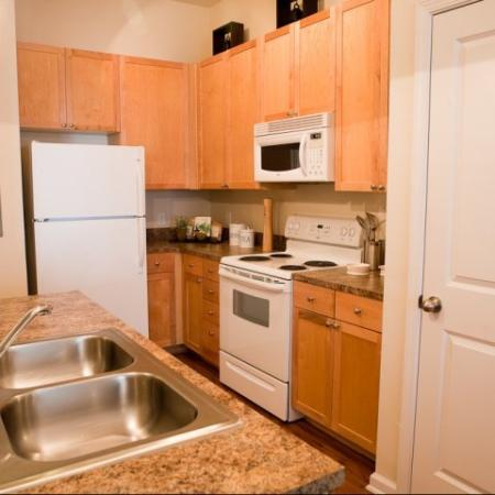 Kitchens at The Alexander at Ghent Apartment Homes in Norfolk, VA