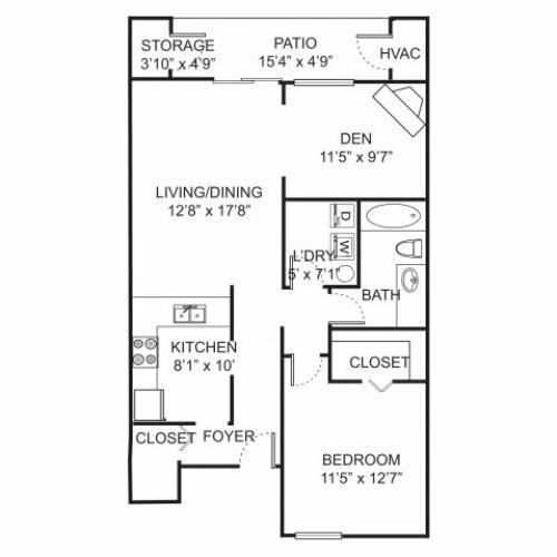 Farmington Hills Mi Apartments For Rent: 1 Bed / 1 Bath Apartment In Farmington Hills MI