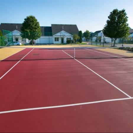 Tennis court at The Village at Avon Apartments in Avon, OH.