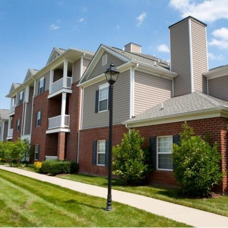 Exterior view of The Belvedere Apartments in North Chesterfield, VA