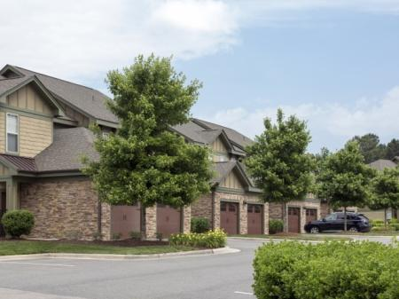 Garages at Southpoint Village Apartments in Durham, NC