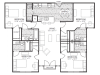 4bd/4ba floor plan