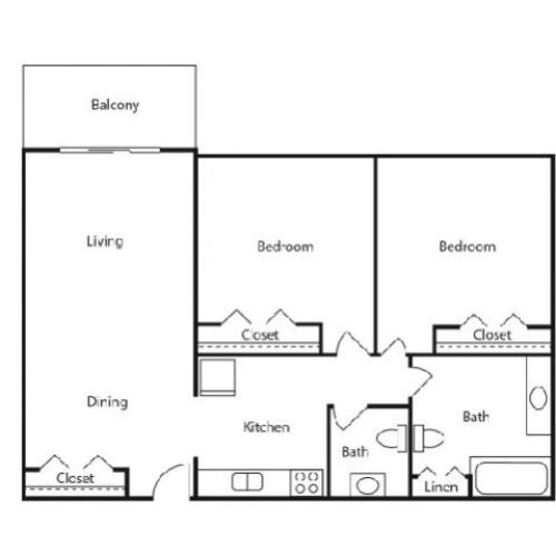 Floor Plan 3 | Kalamazoo Student Rentals WMU | 13 Twenty-Four Kalamazoo