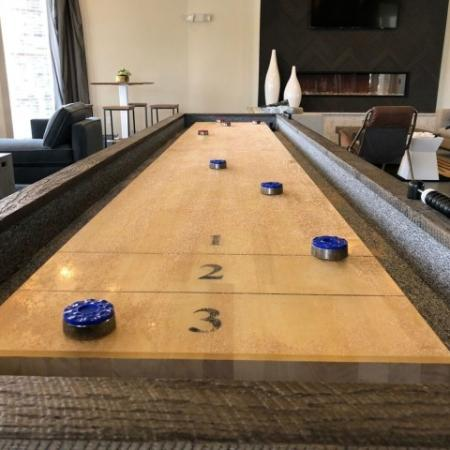 Resident Game Room   Plainfield IN Apartments   Echo Park at Perry Crossing