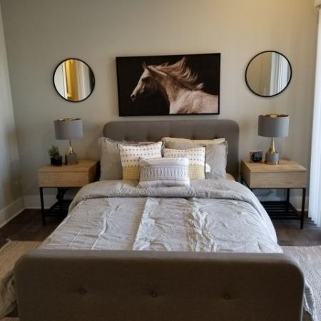 Spacious Master Bedroom   Apartments Near Indianapolis IN   Echo Park at Perry Crossing