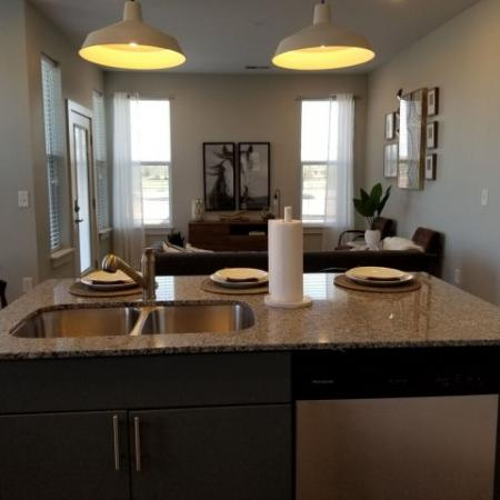 Elegant Kitchen   Plainfield IN Apartments   Echo Park at Perry Crossing